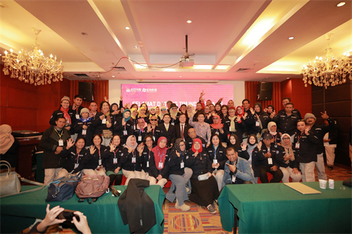 The Norland Indonesian team completed their visit in Beijing